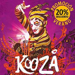 circo del sol kooza descuento verano